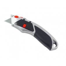 Канцелярский нож с выдвижным лезвием 1-055